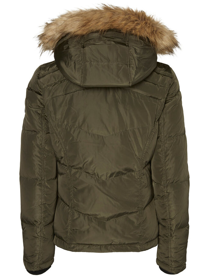 SHORT WINTER JACKET, Peat, large