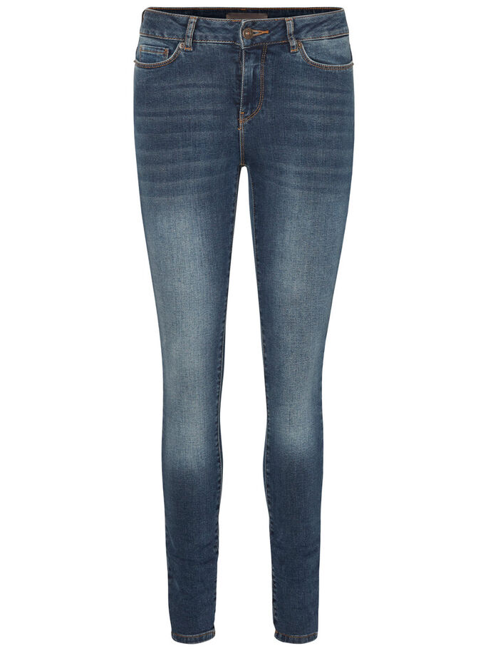 SEVEN NW JEAN SKINNY, Medium Blue Denim, large