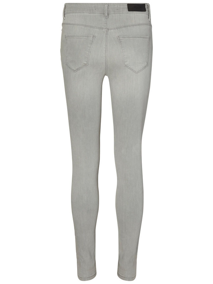 SEVEN NW SKINNY JEANS, Light Grey Denim, large