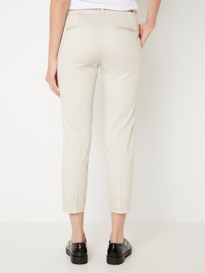 SLIM FIT BROEK, Moonbeam, large