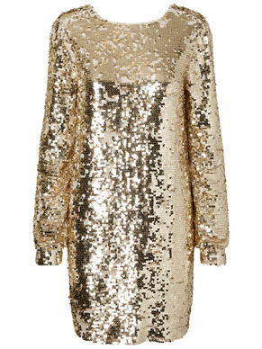 DETAILED PARTY DRESS