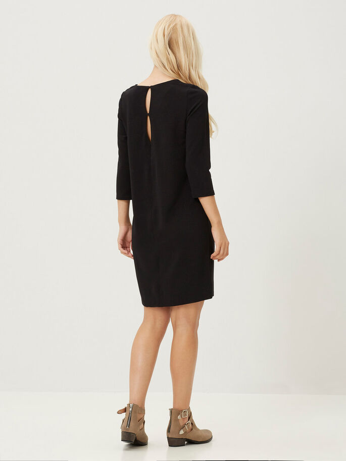3/4 MOUW JURK, Black, large