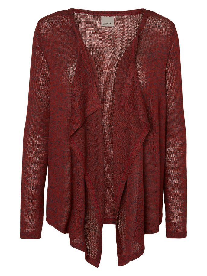 MAILLE CARDIGAN, Fired Brick, large