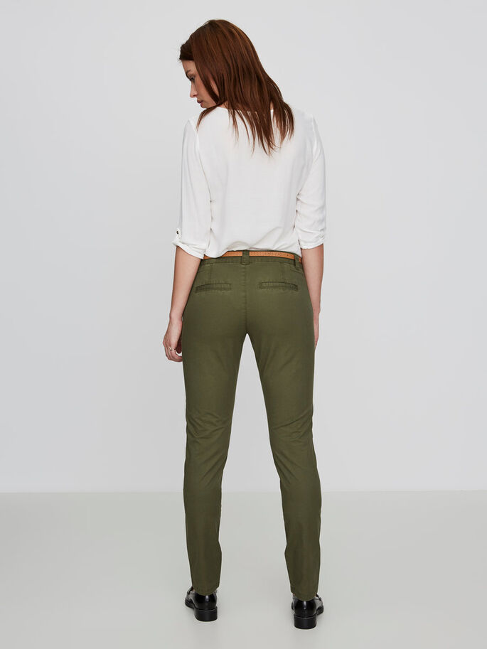 KLASSISCHES LW CHINO, Ivy Green, large