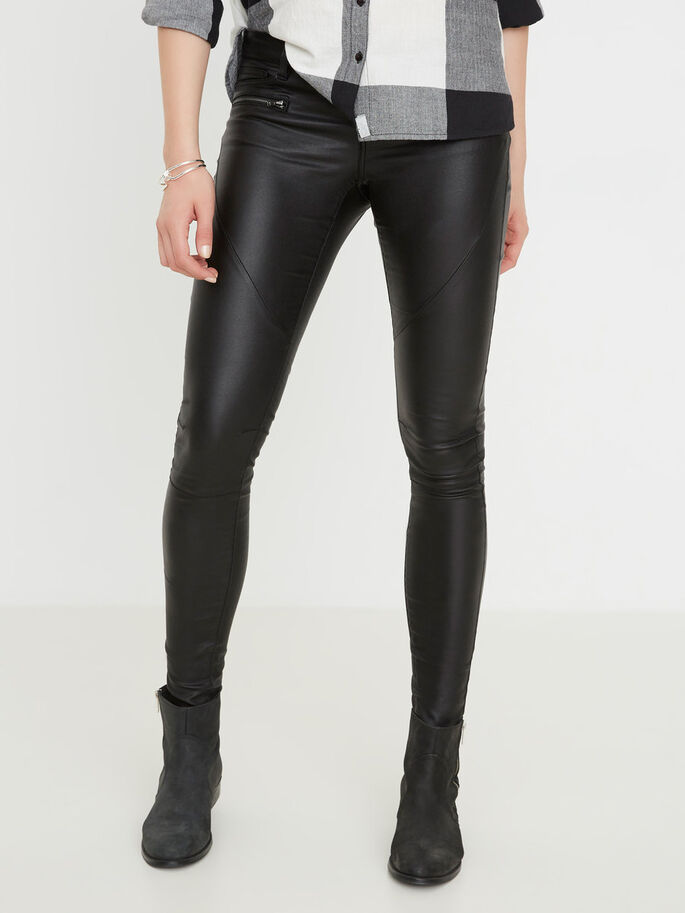 EVE LW SKINNY FIT-JEANS, Black, large