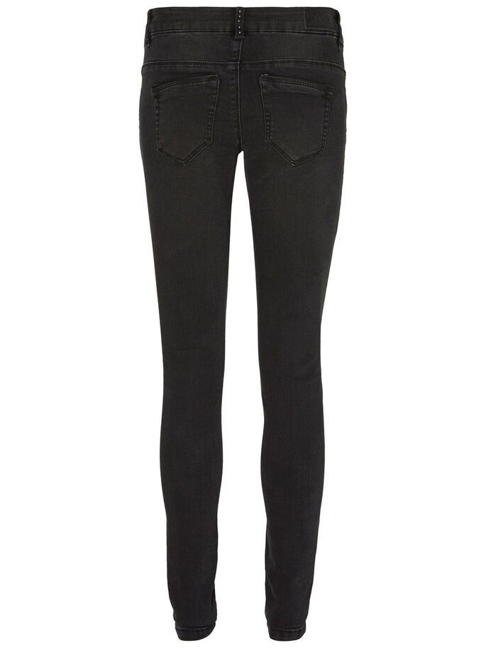 FIVE LW SKINNY FIT JEANS, Black, large