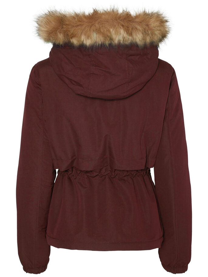 KORT PARKAS, Decadent Chocolate, large