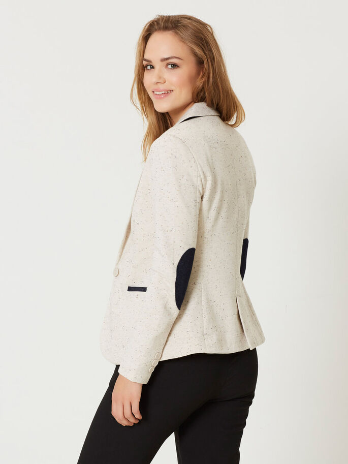 LANGÄRMELIGER BLAZER, Moonbeam, large