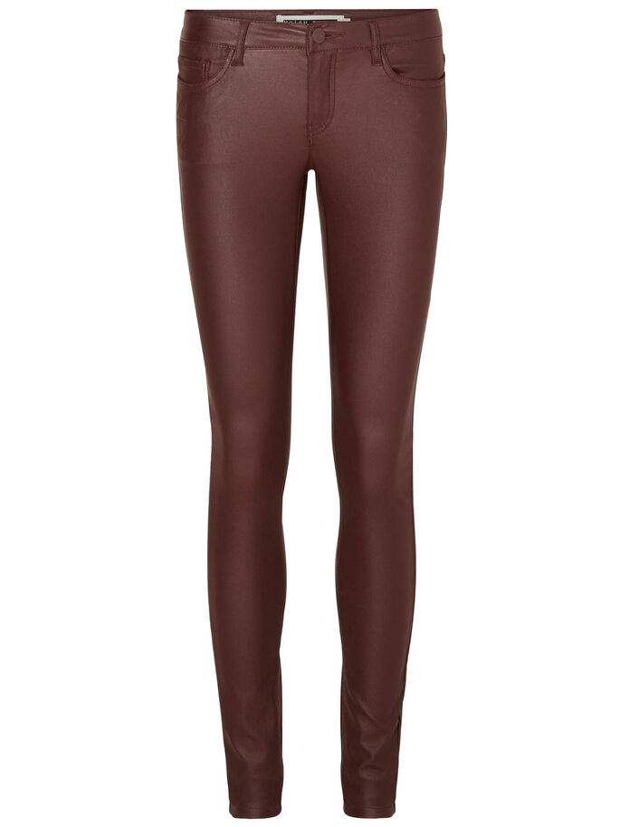 EVE NW BESCHICHTETE HOSE, Decadent Chocolate, large