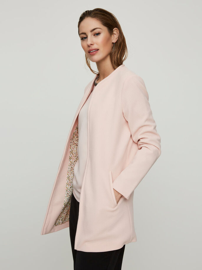 LONG JACKET, Peach Whip, large