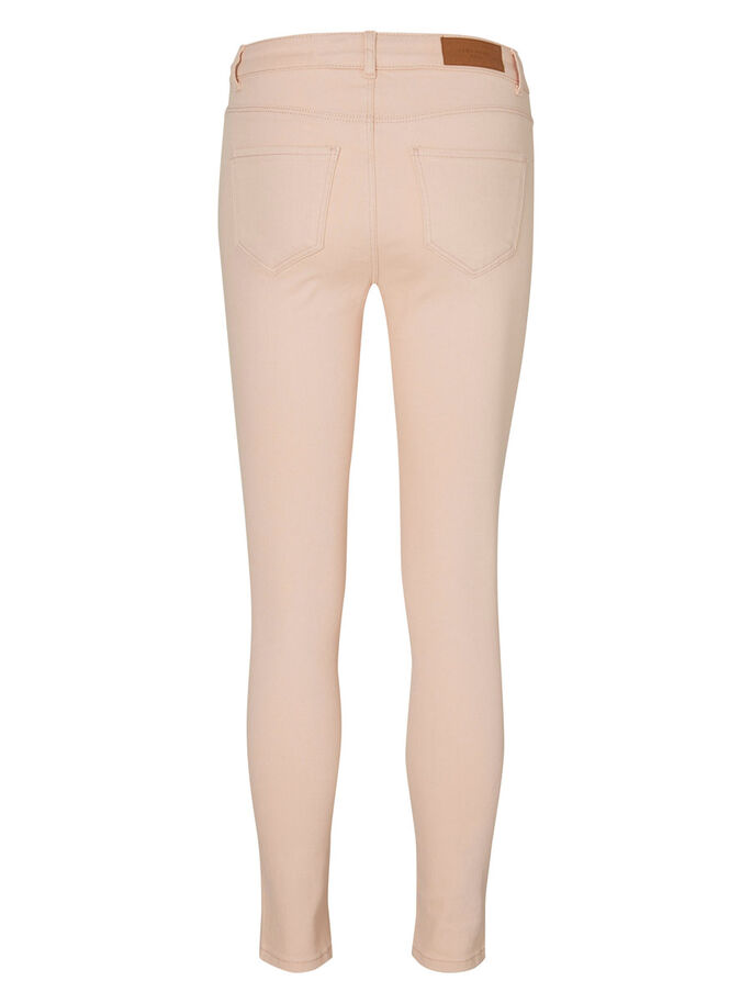 SEVEN NW ANKLE SKINNY FIT -FARKUT, Cream Tan, large