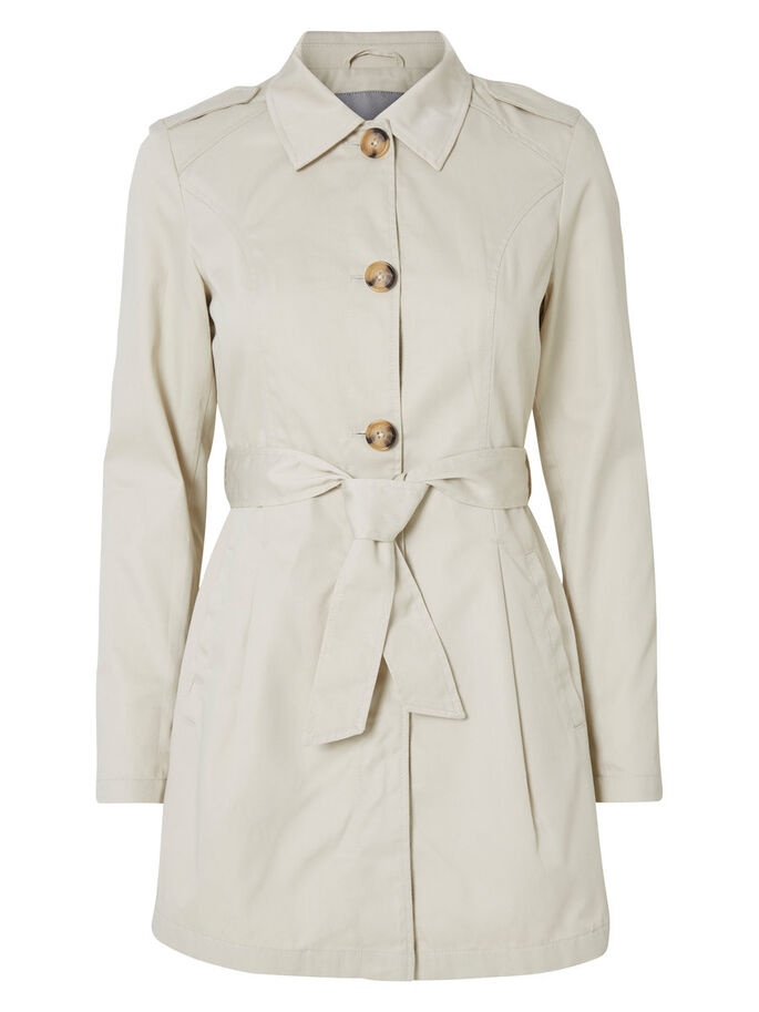 OVERGANGS TRENCHCOAT, Oatmeal, large