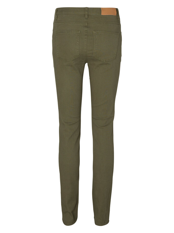LUCY NW SKINNY JEANS, Ivy Green, large