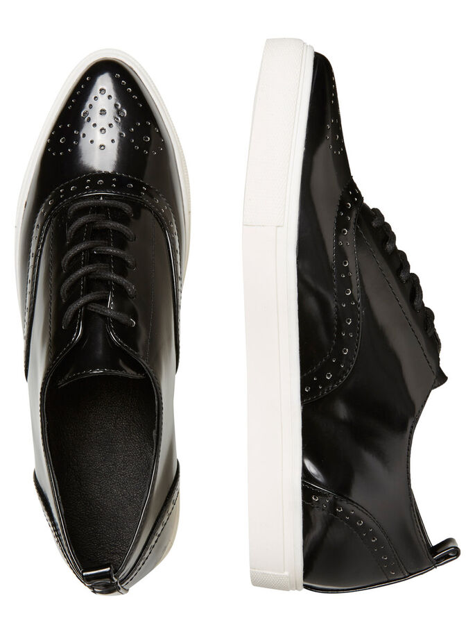 BROGUE- SCHUHE, Black, large