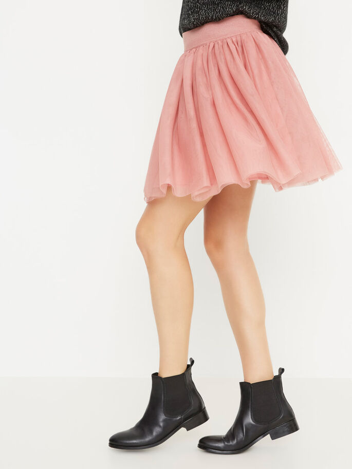 SHORT SKIRT, Dusty Rose, large