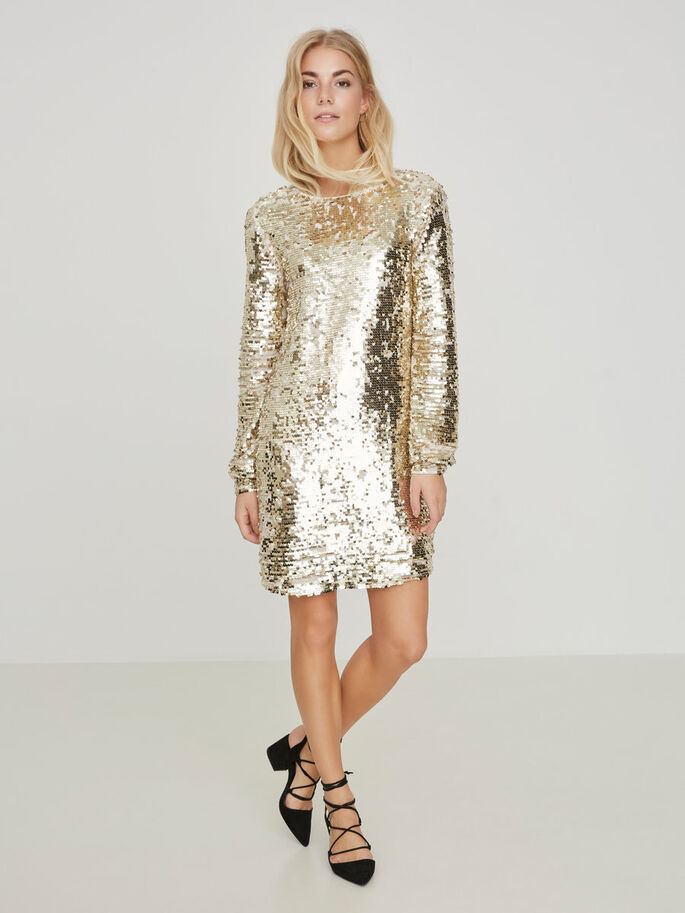 SEQUINED PARTY DRESS, Snow White, large