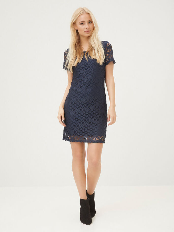LACED DRESS, Total Eclipse, large
