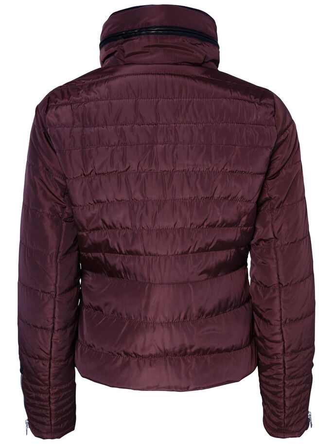 KURZE, WATTIERTE JACKE, Decadent Chocolate, large