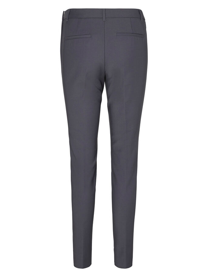 SLIM FIT TROUSERS, Asphalt, large