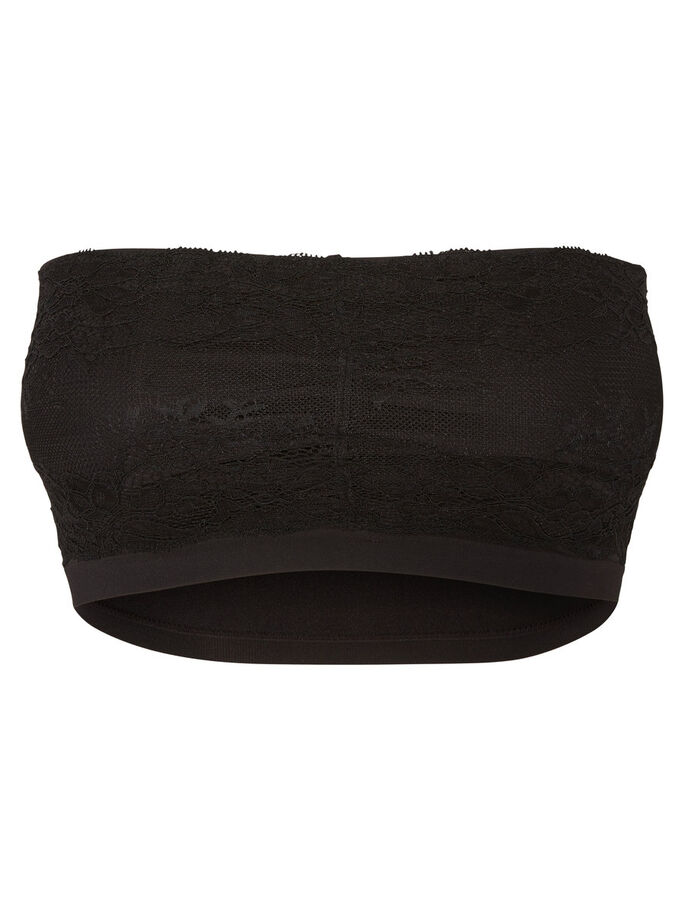 2-PAKNING BANDEAU, Black, large
