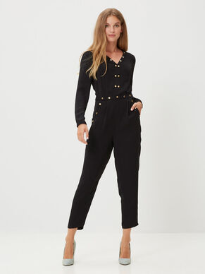 LONG SLEEVED JUMPSUIT