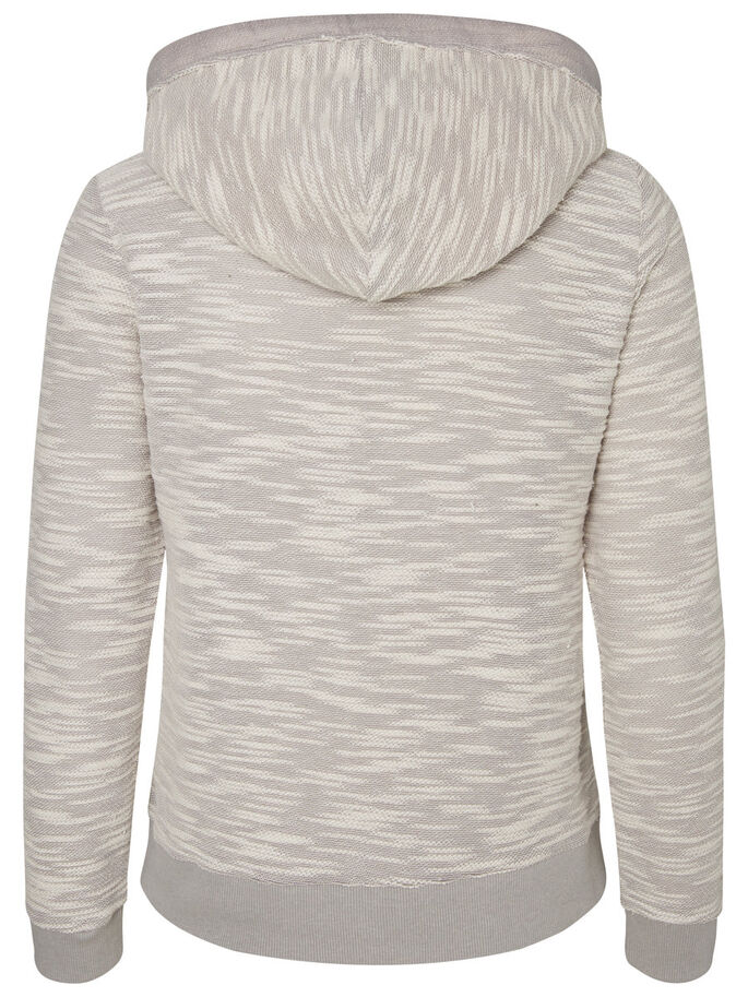 DÉCONTRACTÉ SWEAT-SHIRT, Light Grey Melange, large
