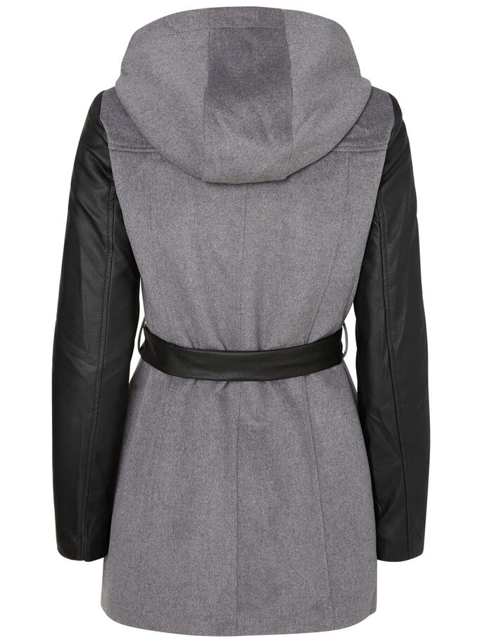 ULD JAKKE, Medium Grey Melange, large