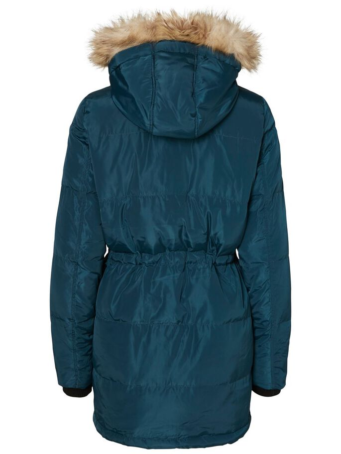 WINTER PARKA COAT, Reflecting Pond, large
