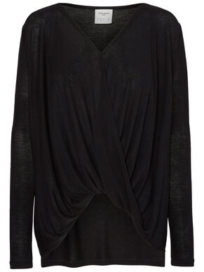 LOOSE FIT LONG SLEEVED BLOUSE