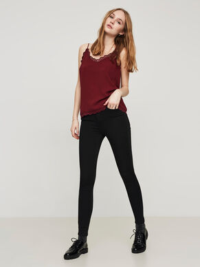 LUX HW ANKLE SKINNY FIT-JEANS
