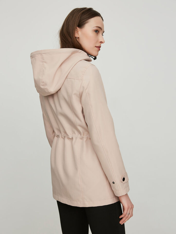 LONG SLEEVED JACKET, Rose Dust, large