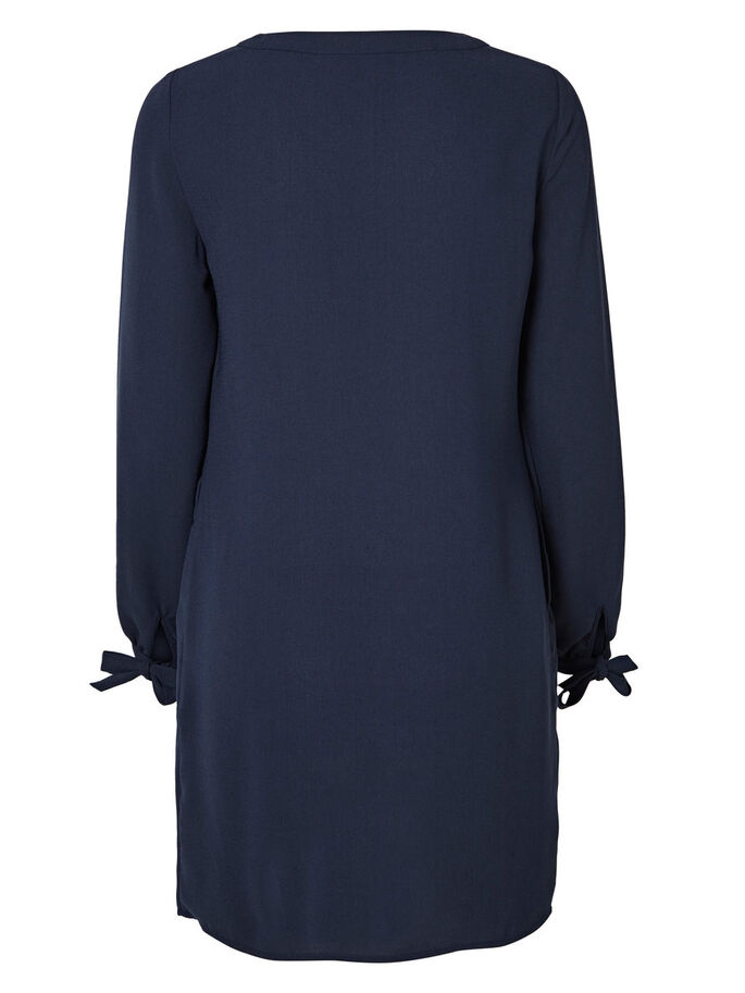LANGÄRMELIGES KURZKLEID, Navy Blazer, large