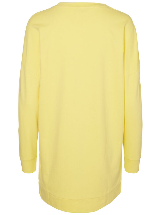 LONG SWEAT-SHIRT, Goldfinch, large