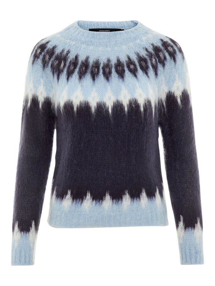 ba0c6a208 Patterned knitted pullover | VERO MODA
