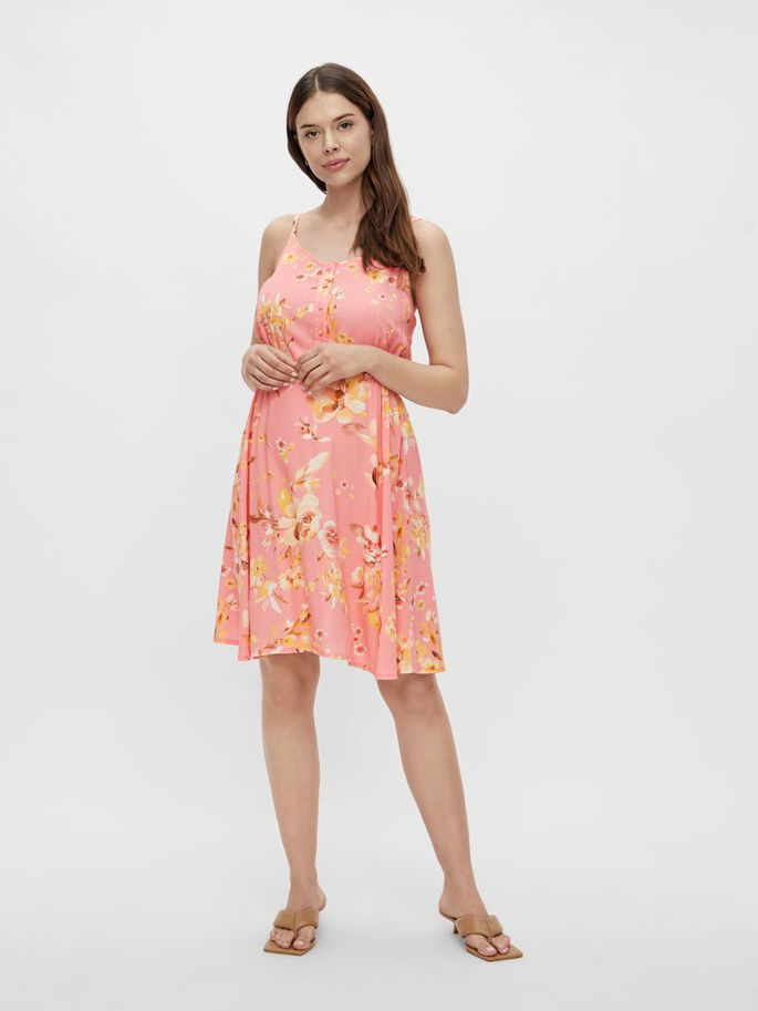 MLGEMMA 2-IN-1 MATERNITY DRESS, Pink Icing, large