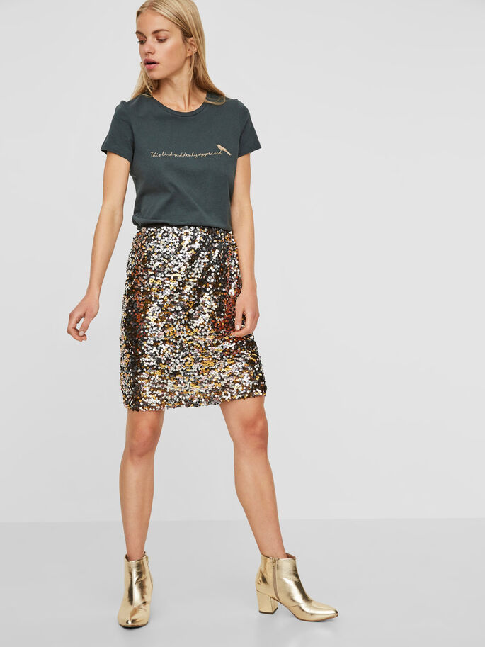 MM/VM SKIRT, Black, large