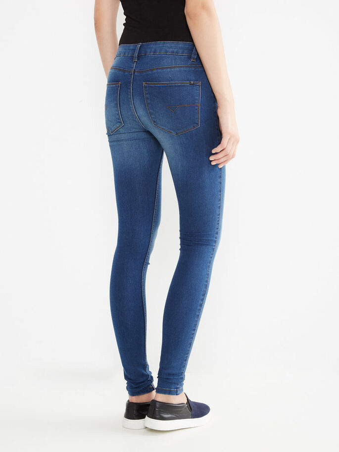 EXTREME LUCY NW JEGGINGS, Medium Blue Denim, large