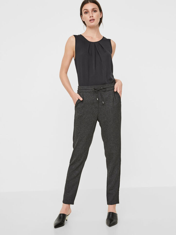 RORY NW LOOSE FIT HOSE, Black, large