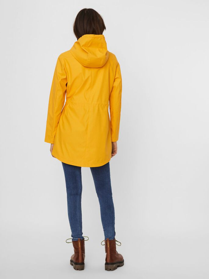 COATED JACKET, Yolk Yellow, large