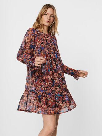 PRINTED MINI DRESS