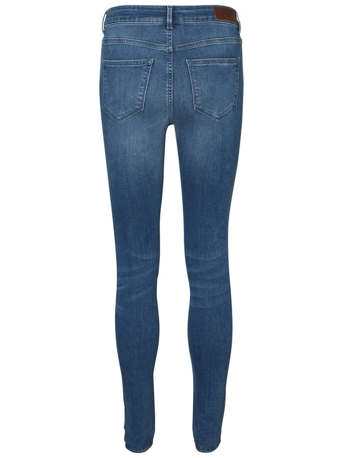 SEVEN NW SKINNY FIT JEANS, Medium Blue Denim, large