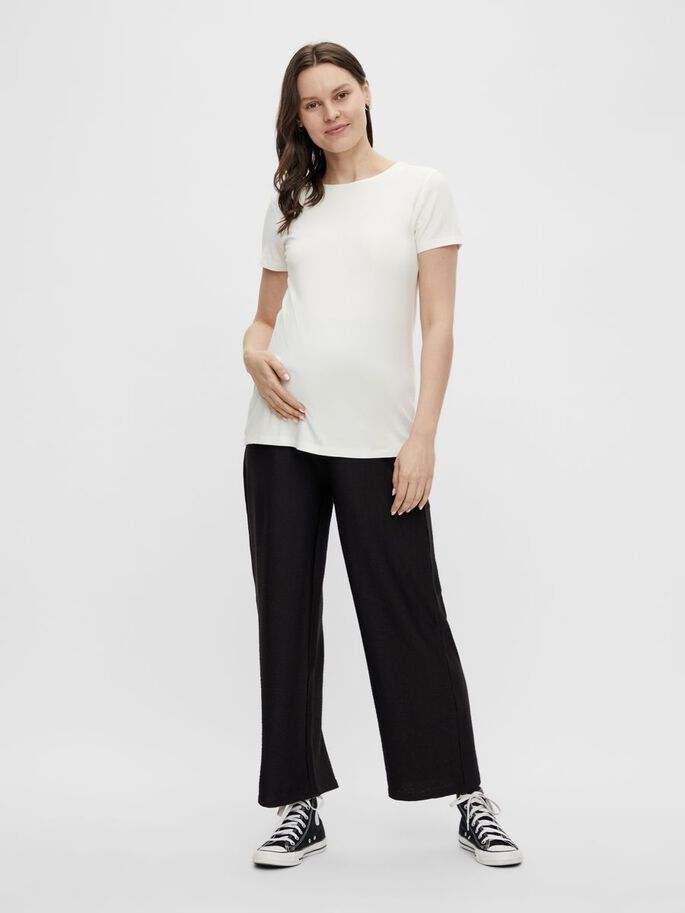 MLCARINA MATERNITY TOP, Snow White, large