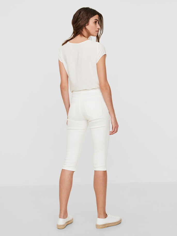 LUCY NW CAPRIS, Bright White, large