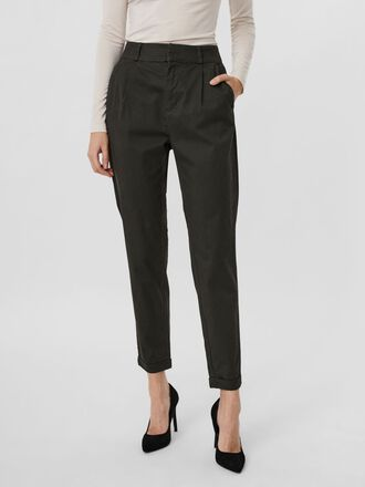HIGH WAIST LOOSE FIT TROUSERS