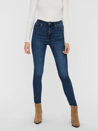 VMLOA HIGH WAIST SKINNY FIT JEANS