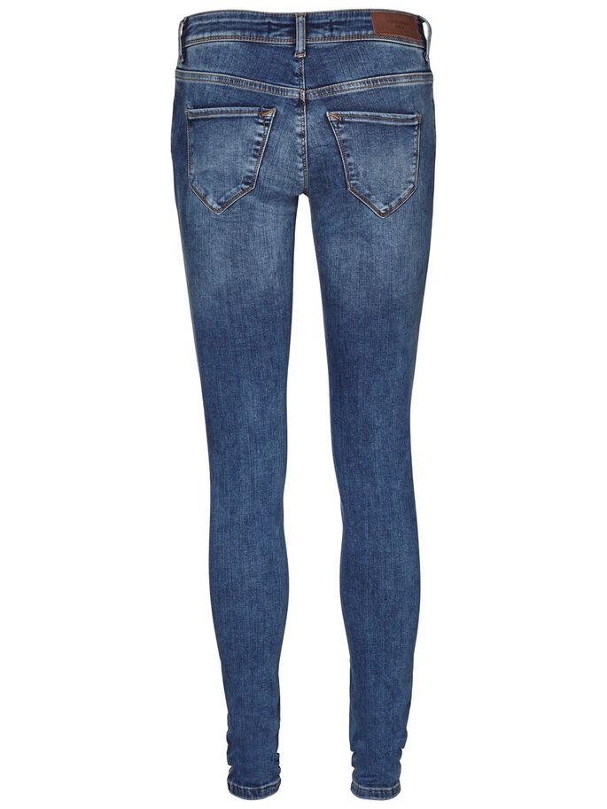 FIVE LW JEAN SKINNY, Dark Blue Denim, large