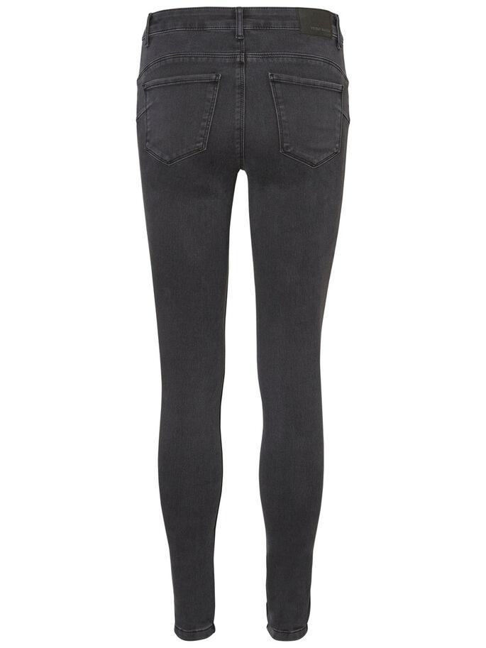 SEVEN NW SHAPE-UP SKINNY FIT JEANS, Dark Grey Denim, large