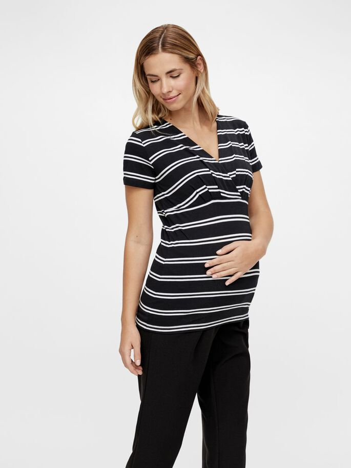 MLSIA 2-PACK 2-IN-1 MATERNITY TOP, Snow White, large
