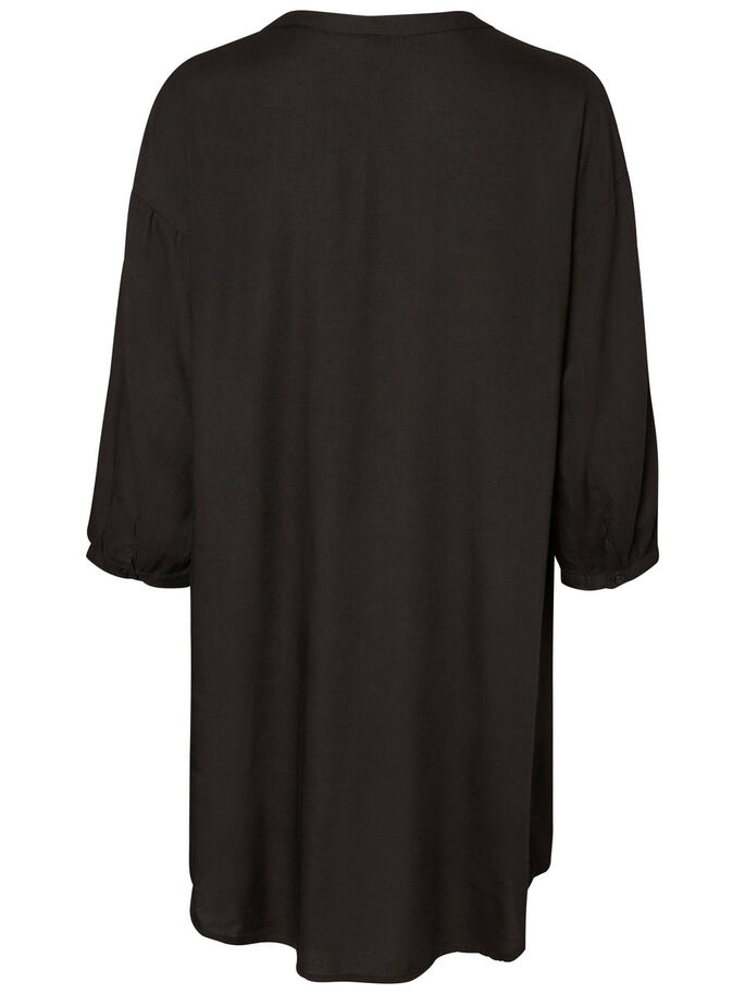LOOSE FIT TUNIC, Black, large