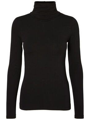 SOFT TURTLENECK LONG SLEEVED TOP